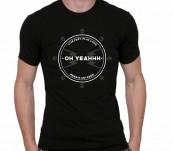 T-shirt Oh Yeahhh ! Skull Ring